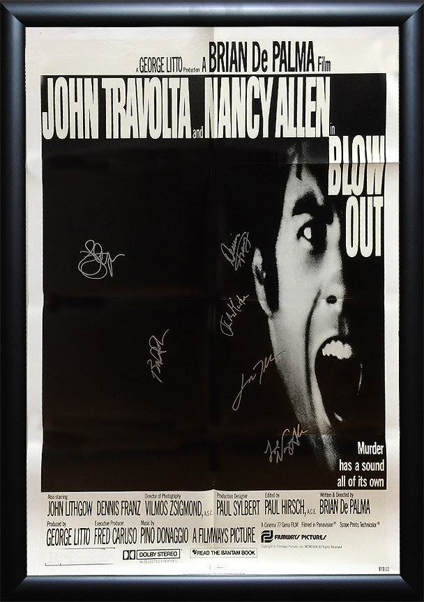 """Blowout"" Signed *Original* Movie Poster"