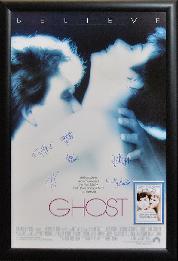 """Ghost"" Signed Movie Poster"