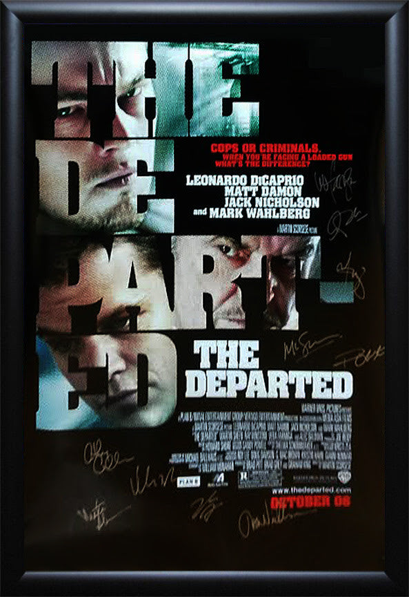 """Departed, The"" Signed Movie Poster"