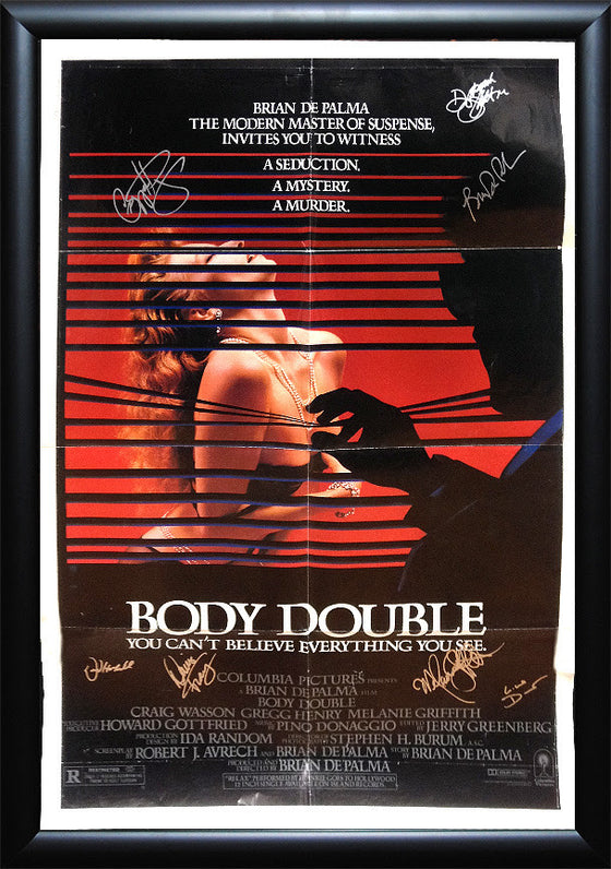 """Body Double"" Signed *Original* Movie Poster"