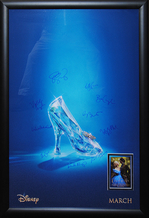 """Cinderella"" Signed Movie Poster"