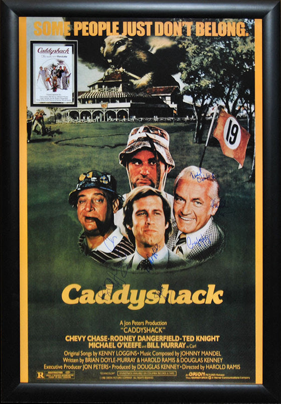 """Caddyshack"" Signed Movie Poster"