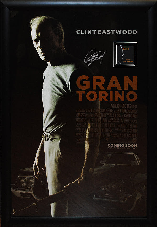 """Gran Torino"" Signed Movie Poster"