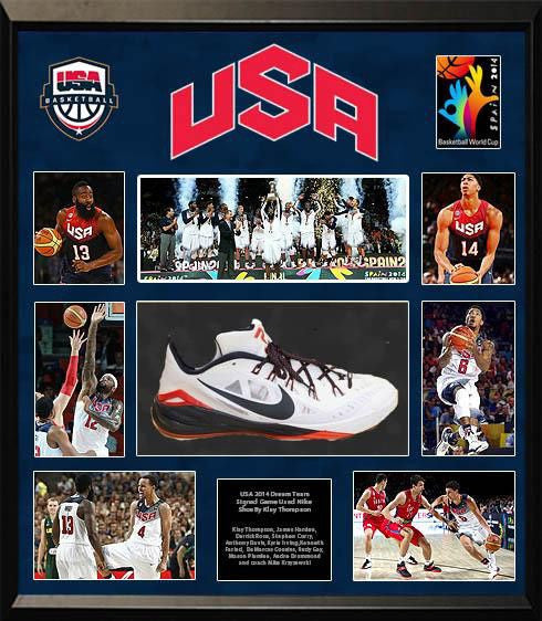"""USA"" 2014 FIBA World Cup team shoe unf"
