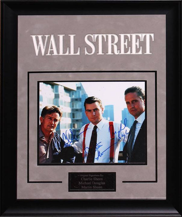 """Wall Street"" Signed 8x10 Photo"