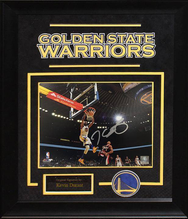 """Golden State Warriors"" Kevin Durant Signed 8x10 Photo"