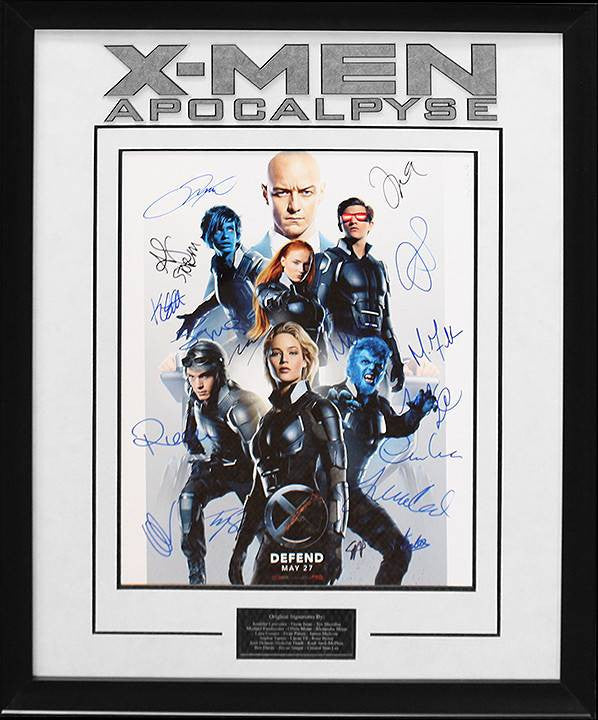 """X-Men:Apocalypse"" Cast Signed 16X20"