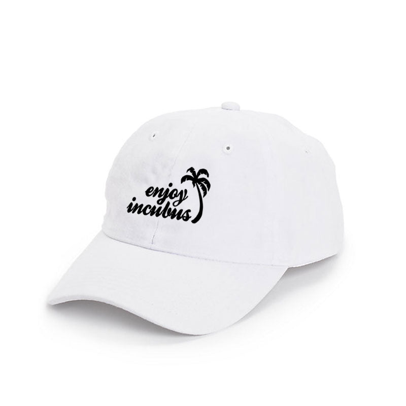 ENJOY INCUBUS  WHITE DAD HAT  3725a5740e9d