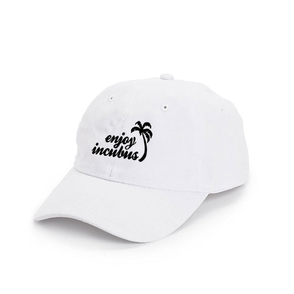 ENJOY INCUBUS' WHITE DAD HAT