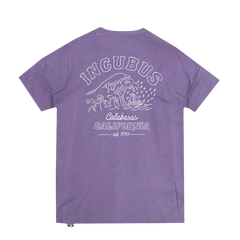 Calabasas Wave Purple Tee