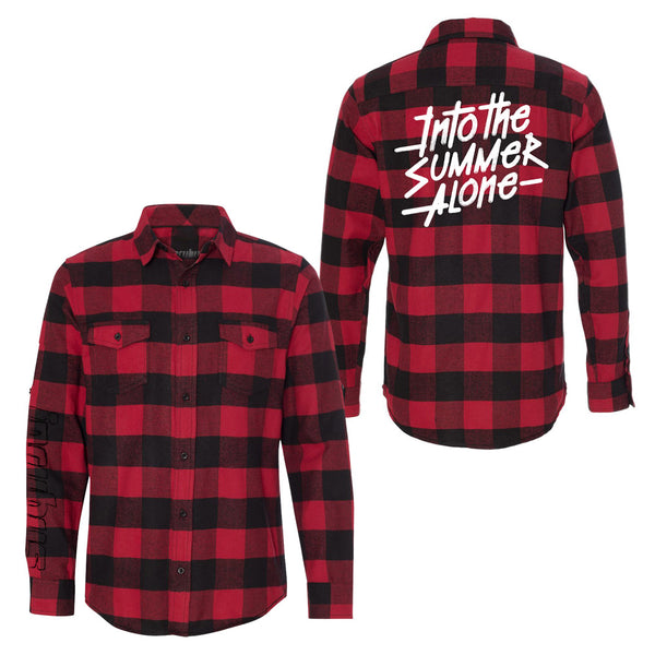 INTO THE SUMMER ALONE FLANNEL