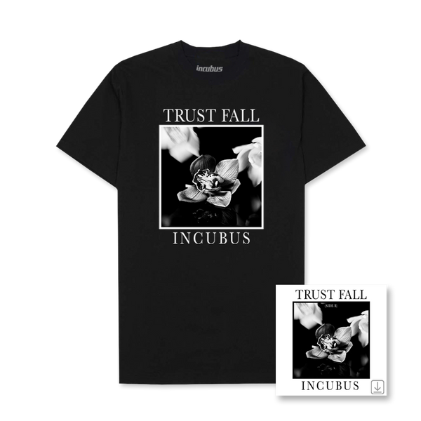 Trust Fall Side B EP Black Tee + Digi EP Bundle
