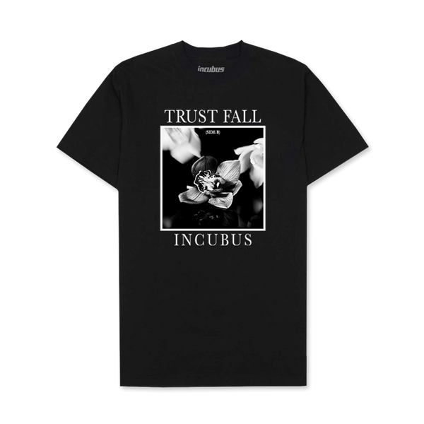 Trust Fall Side B EP Black Tee