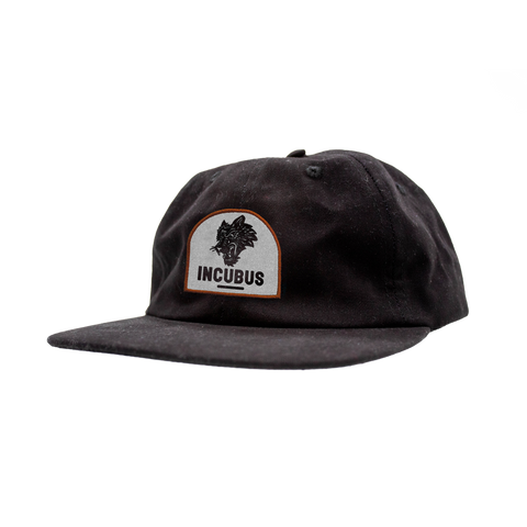 BLACK WOLF PATCH HAT