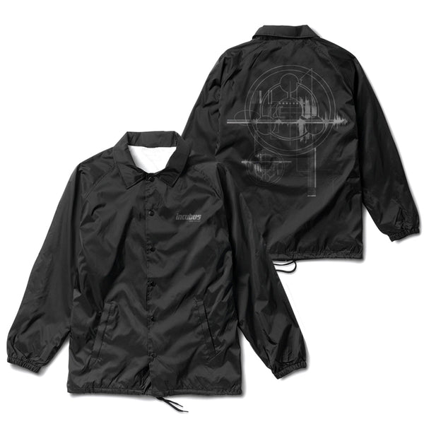 MAKE YOURSELF BLACK COACHES JACKET