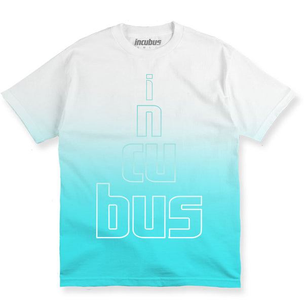 STACKED LOGO DIP DYE T-SHIRT