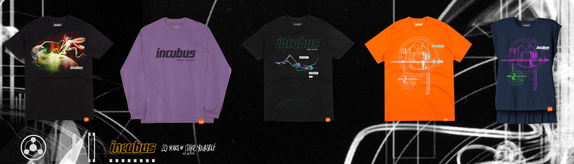b12f0a2fc Incubus Official Merch Store | Incubus Store