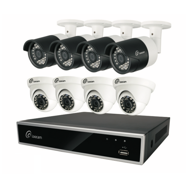 1080p HD 8-Channel Security Camera System