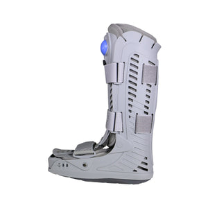 Left View of Inflatable High Top Walker Boot