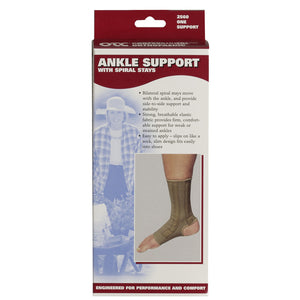 2560 / Ankle Support - Spiral Stays