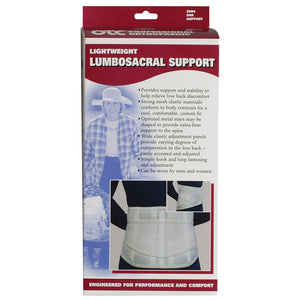 2884 / Lightweight Lumbosacral Support