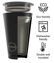 Load image into Gallery viewer, 12oz Otago reusable coffee cup