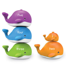 Snap-n-Learn™ Number Stacking Whales Set