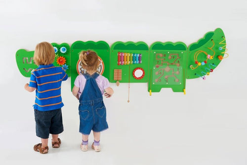 Crocodile Activity Wall Panels Set