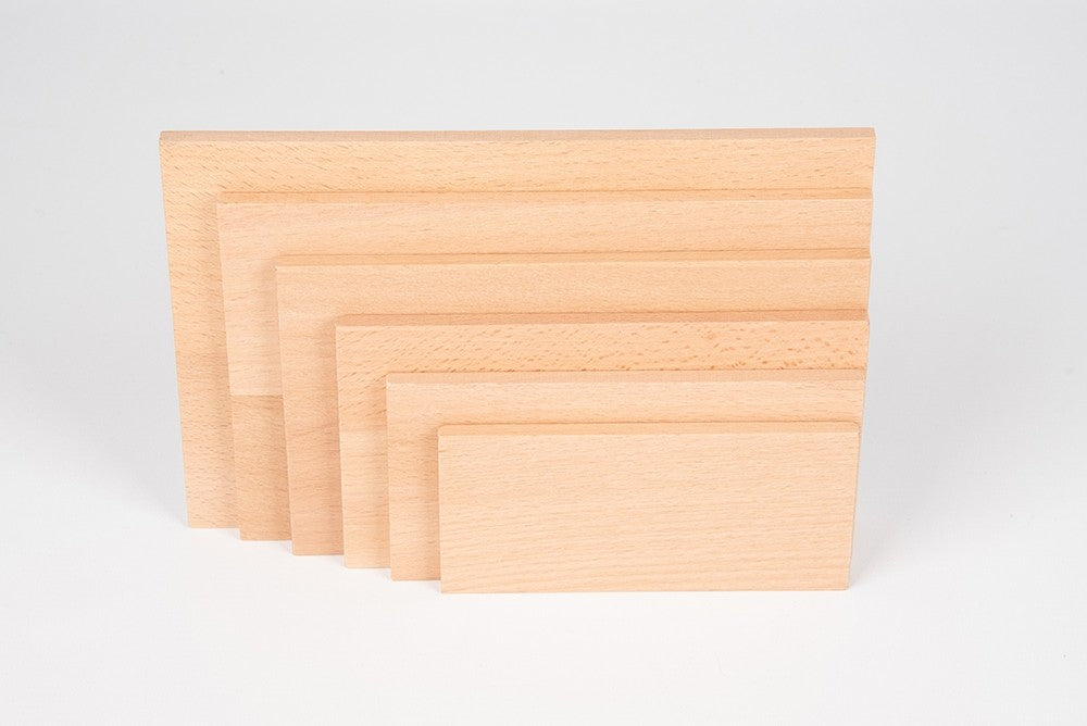 Natural Architect Panel Rectangles Set 6 pc