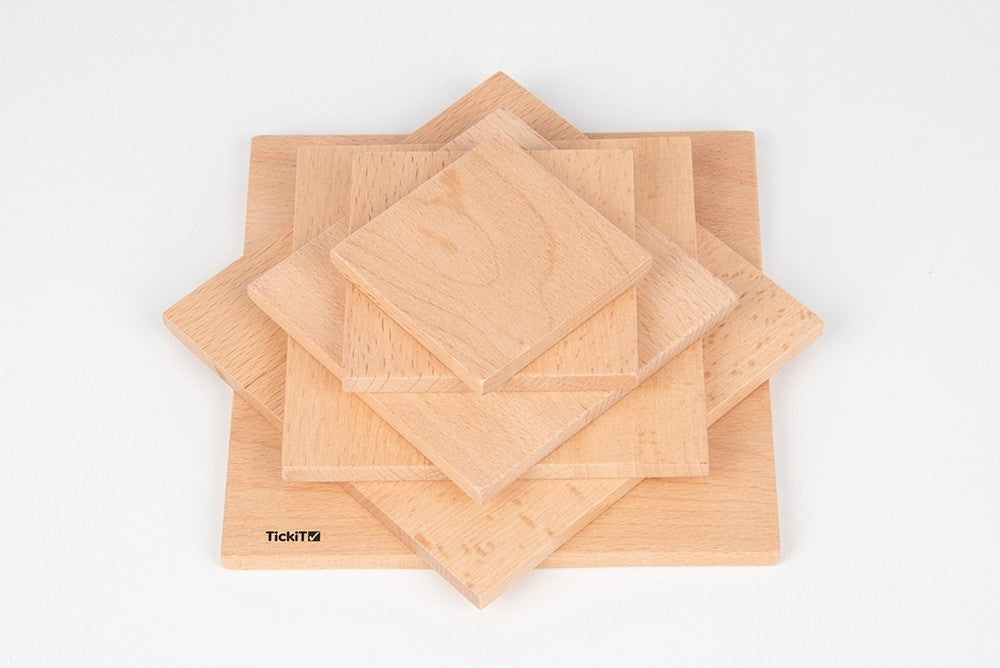Natural Architect Panel Squares Set 6 pc
