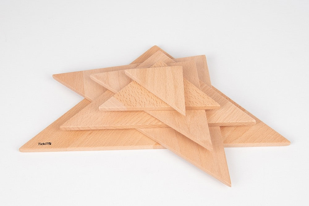 Natural Architect Panel Triangles Set 6 pc