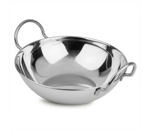 Stainless Steel Balti Dish 18cm dia
