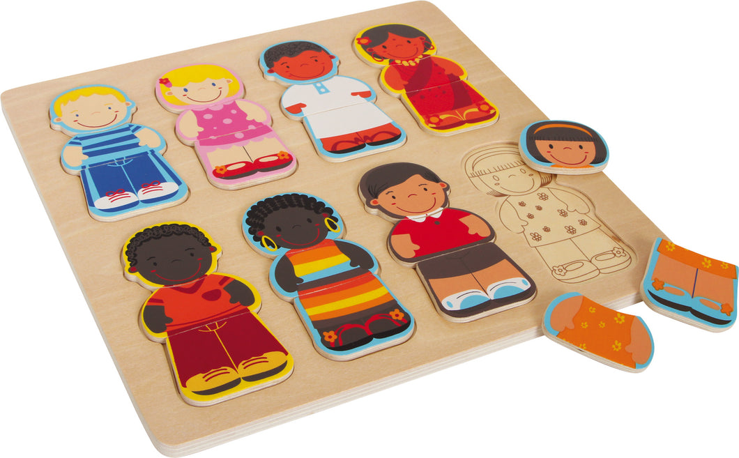 Children of the World Inset Puzzle 28cm