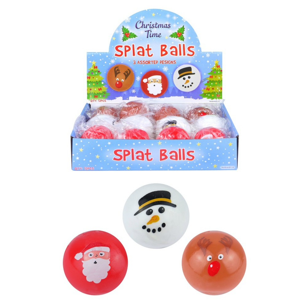 Christmas Splat Ball