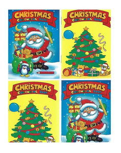 A6 Christmas Colouring book