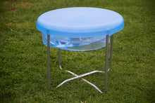 Circular Water Tray with Lid and Stand