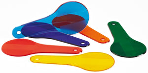 Textured Colour Paddles set of 6