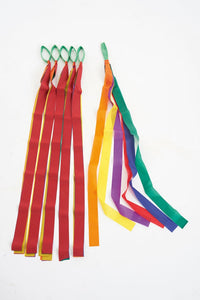Rainbow Dancing Ribbons (one set of ribbons supplied)