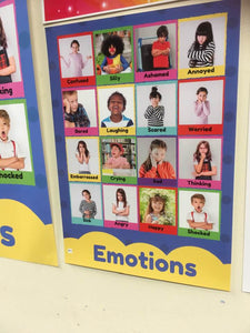Emotions Poster PRINTED COPY