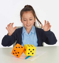Load image into Gallery viewer, Giant Soft Foam Dice pk2