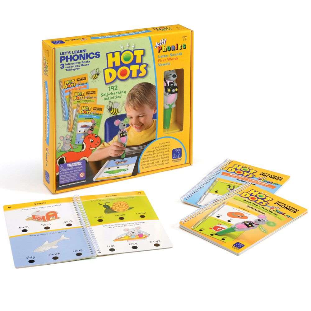 Hot Dots Jolly Phonics