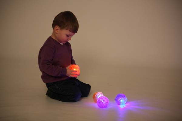 Irregular Sensory Flashing Ball 8cm
