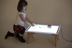 A2 Light Panel and Table