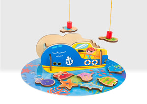 Pirate Magnetic Fishing Game