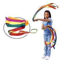Load image into Gallery viewer, Rainbow Dancing Ribbons (one set of ribbons supplied)