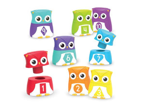 Snap-n-Learn™ Rainbow Owls