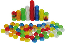 Translucent Stackable Counters pks of 100, 250 or 500