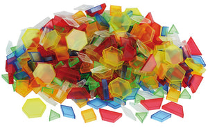 Translucent Hollow Pattern Blocks pk36