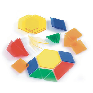 Translucent Pattern Blocks pk 49