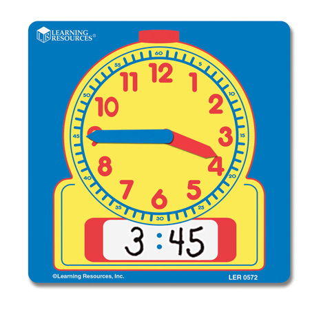 Learning Resources Wipe Clean Learning Clock